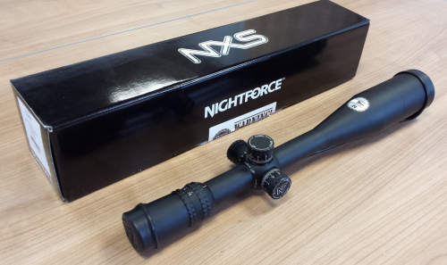 DEMO Nightforce NXS 12-42x56, NP-1RR