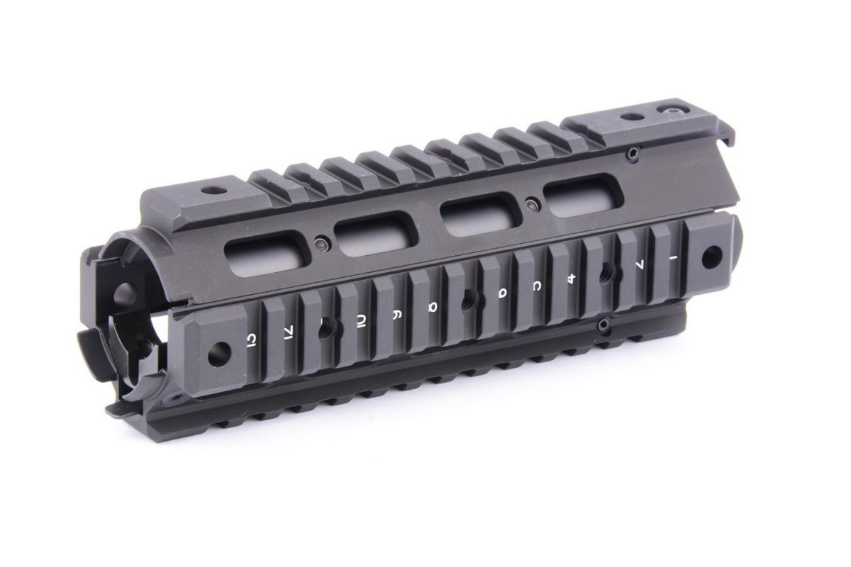 M4 handguard with 4 NAR rails