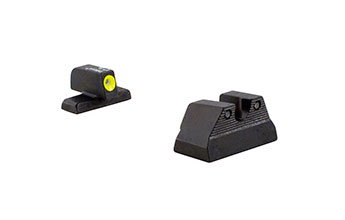 Trijicon  HK106Y: H&K USP HD Night Sight Set - Yellow Front